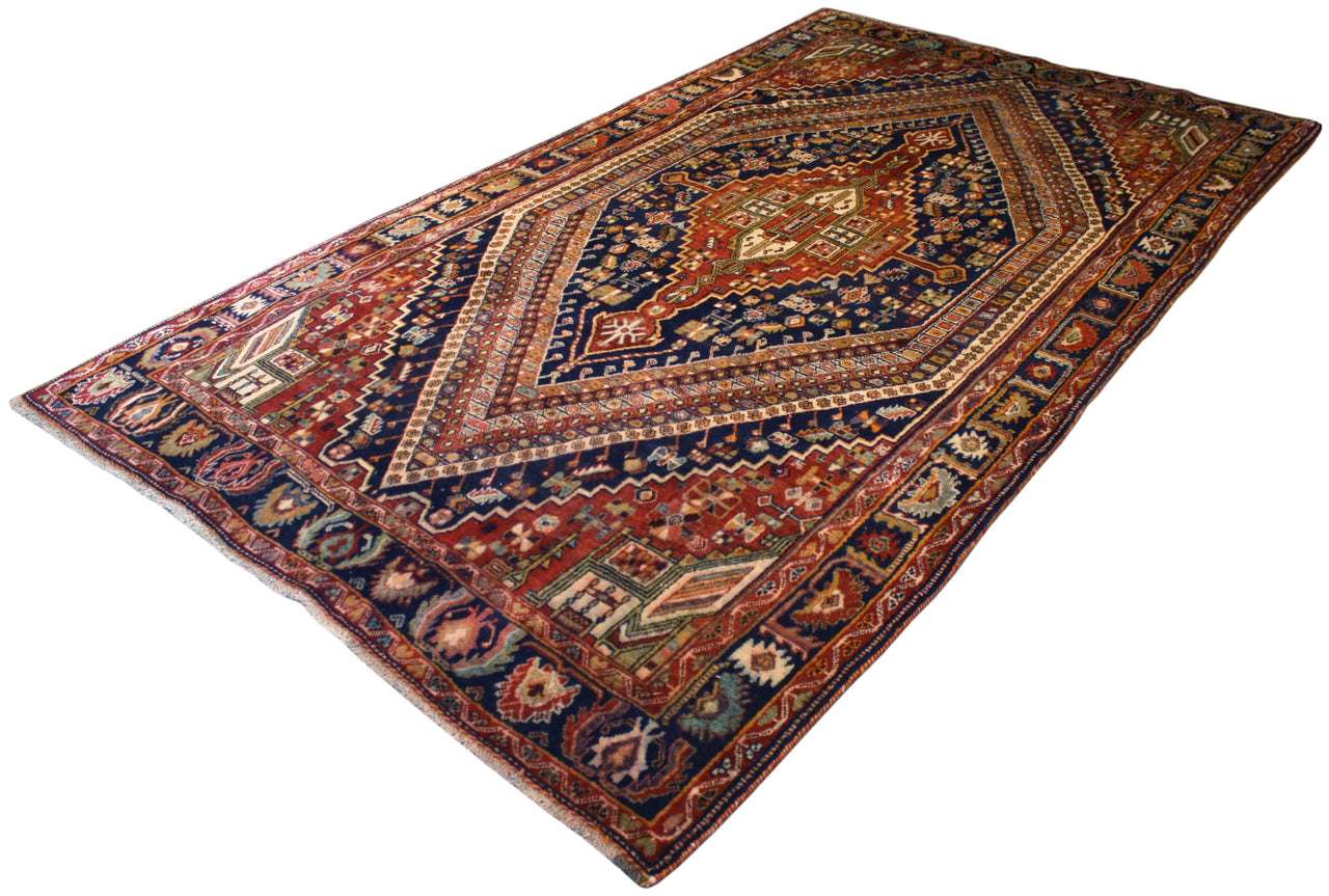 5.5x9.9 Persian Shiraz Kashkuli