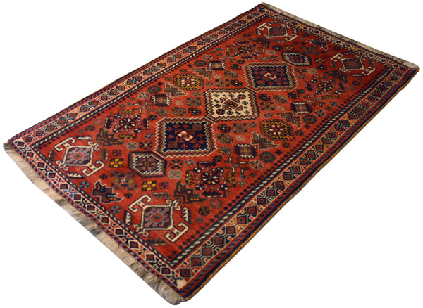 3.6x5.10 Vintage Persian Shiraz