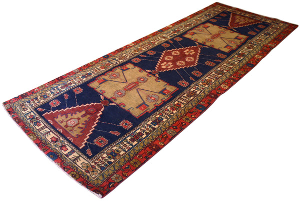 3.8x9.7 Persian Tribal Runner