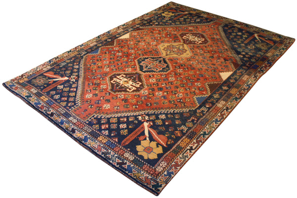 5x7.2 Vintage Persian Shiraz