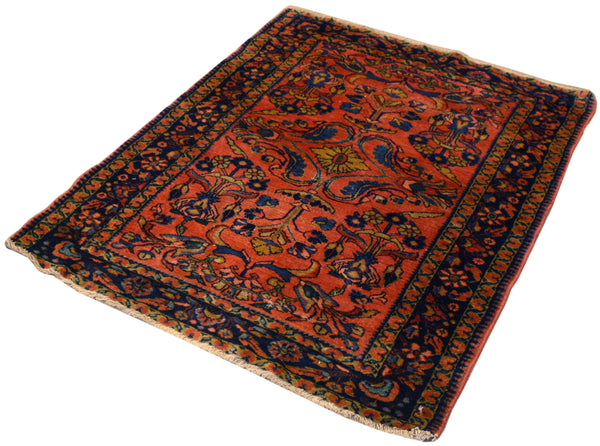 3.4x4.6 Antique Persian Lilihan