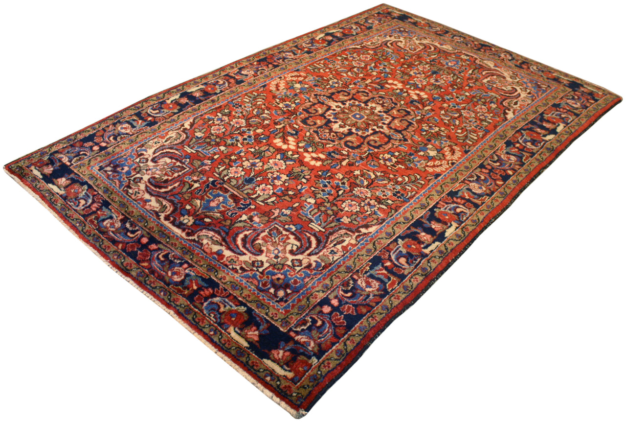 4.11x7.11 Antique Persian Lilihan