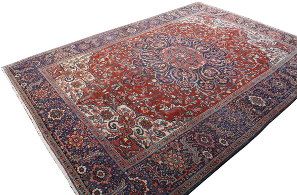 8.2x11.9 Antique Persian Heriz