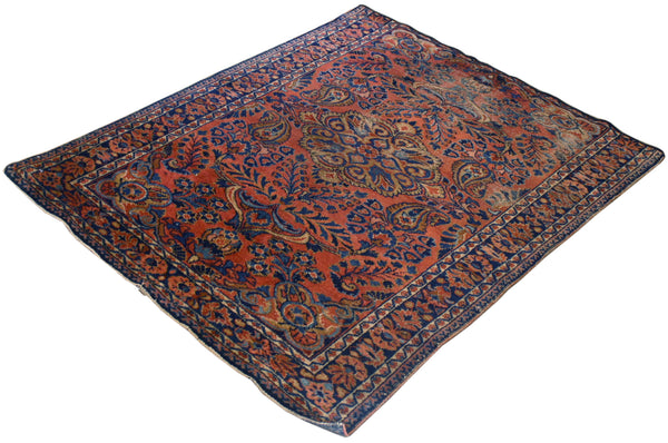 3.6x4.8 Antique Persian Sarouk