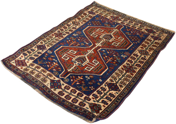 3x4 Antique Persian Shiraz