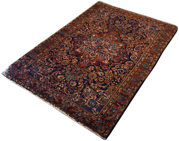 3.4x4.10 Antique Persian Lilihan