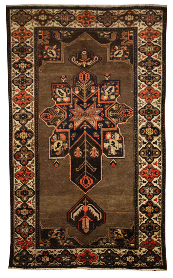 4x6.7 Antique Pesian - Main Street Oriental Rugs