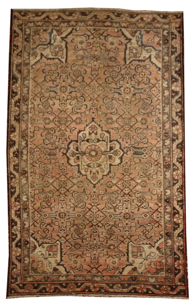 4.3x6.10 Antique Persian Malayer - Main Street Oriental Rugs