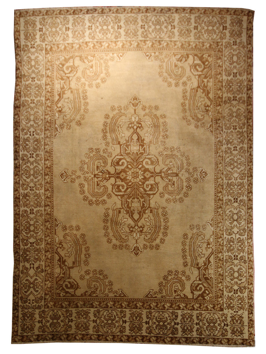 6.4x8.10 Persian Tribal Rug - Main Street Oriental Rugs