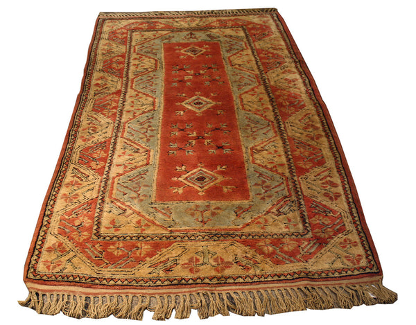 4.3x6.9 Turkish Kazak - Main Street Oriental Rugs - 1
