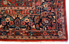 8.9x11.8 Antique Persian Sarouk - Main Street Oriental Rugs - 4
