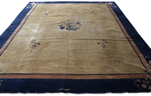 8.10x11.7 Antique Chinese - Main Street Oriental Rugs - 1