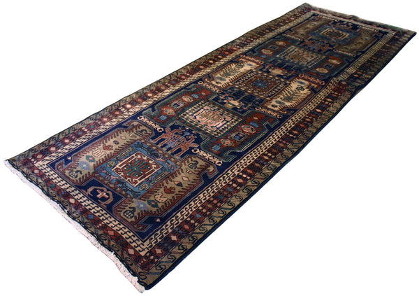 3.4x9.8 Persian Tribal Runner
