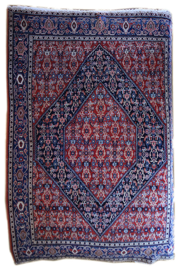 4.6x6.5 Antique Senneh - Main Street Oriental Rugs