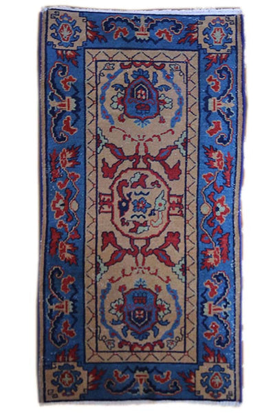 2.9x5.5 Antique Khotan - Main Street Oriental Rugs