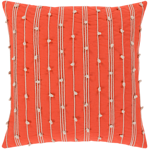 Accretion Embroidered Pillow