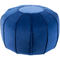 Surya Cotton Velvet pouf