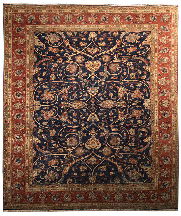 7.11x9.9 Antique Design - Main Street Oriental Rugs