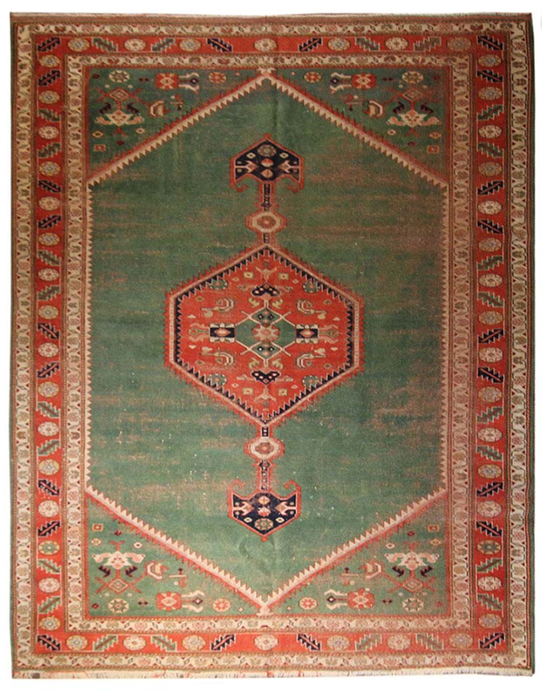 6.6x8.8 Turkish Bidjar Design - Main Street Oriental Rugs