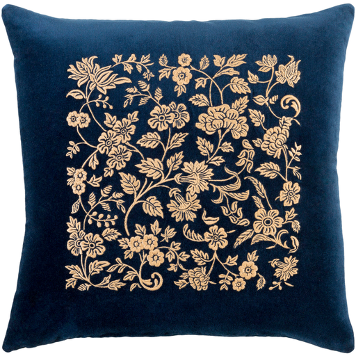 Surya Smithsonian floral pillow