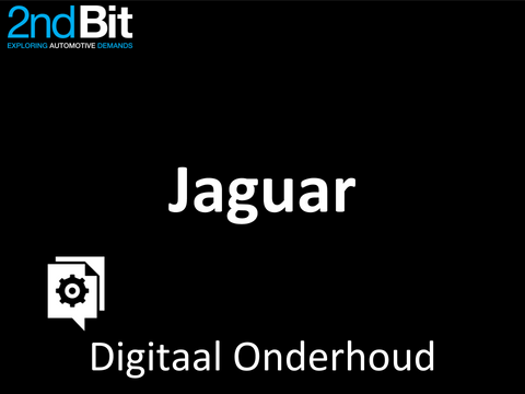 Jaguar Digital Service Record