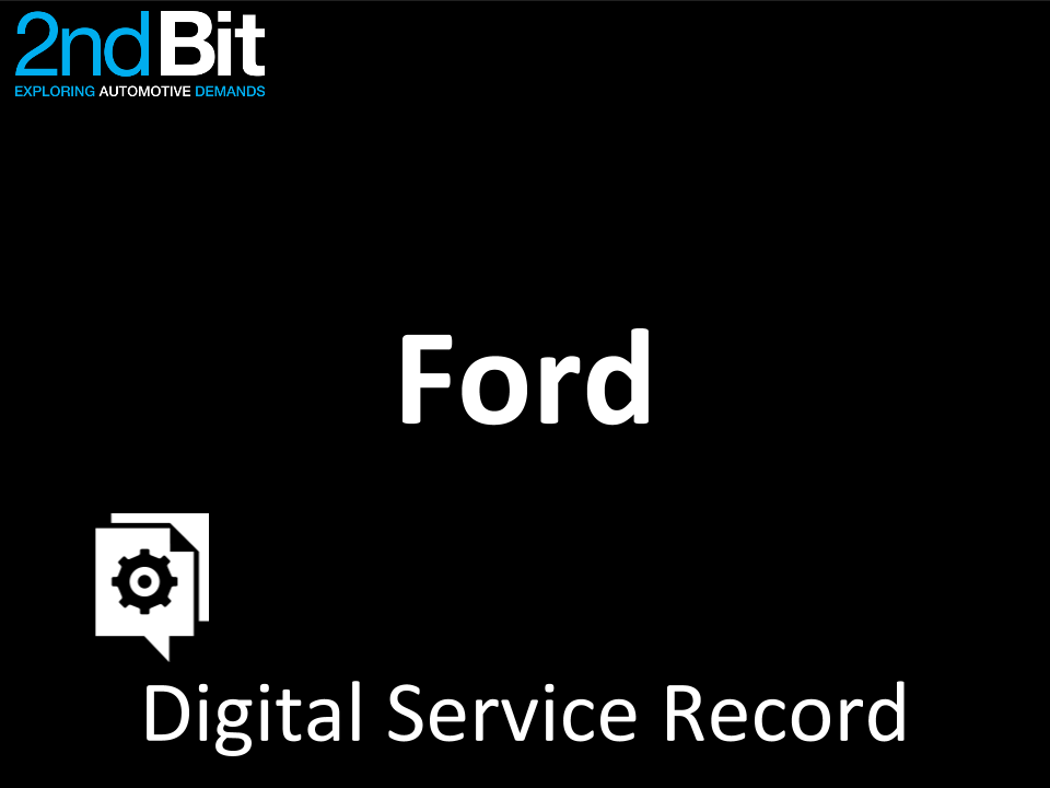 Ford Digital Service Record