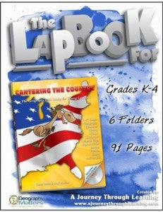 Canering the Country Lapbook