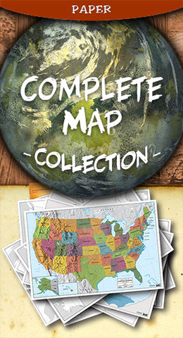 Complete Map Set - Paper