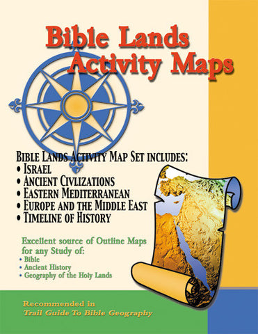 Bible Lands Activity Map Set