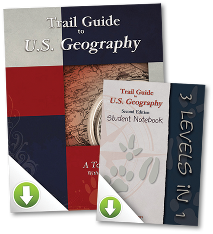 Digital U.S. Geography Package
