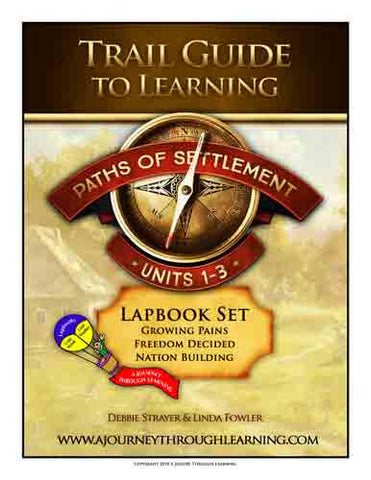 Paths of Settlement Lapbook