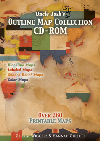 Uncle Josh's Outline Map Collection CD