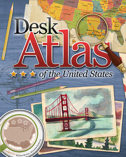 Desk Atlas of the United States 2014 Edition