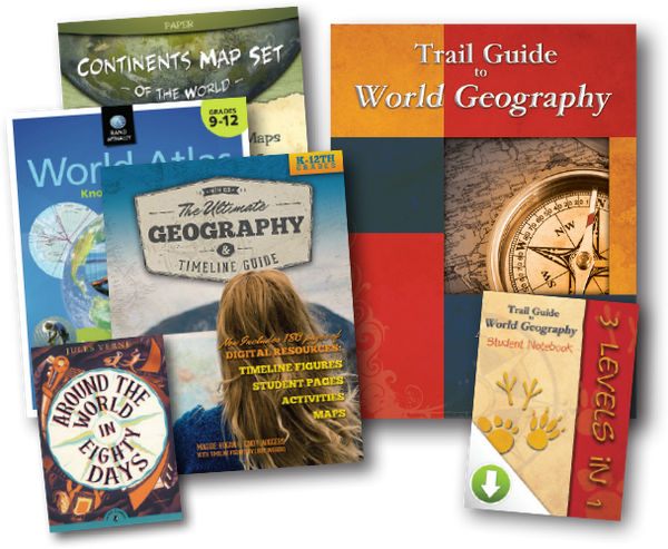 High School World Geography Bundle