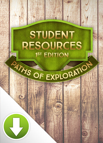 Paths of Exploration Student Resources (1st Ed) Digital