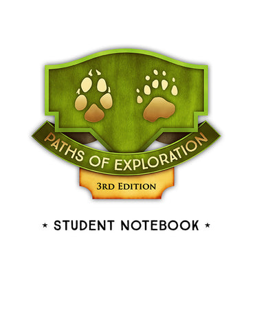Paths of Exploration Middle School Notebook Pages