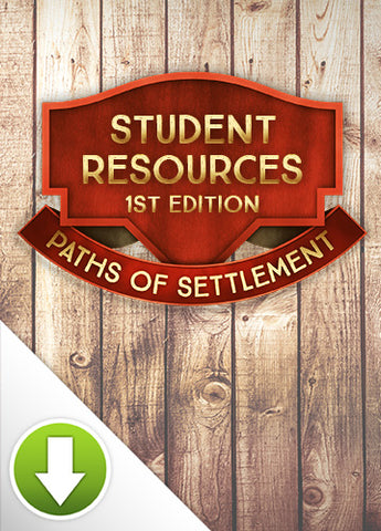 Paths of Settlement Student Resources