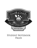 Paths of Settlement Student Notebook Pages