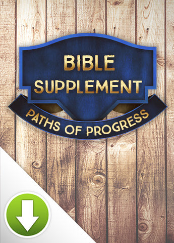 Paths of Progress Bible Supplement
