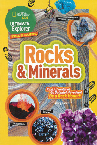 Rocks & Minerals (Explorer Field Guide)