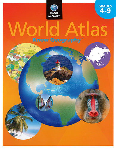 Know Geography World Atlas Grades 4-9