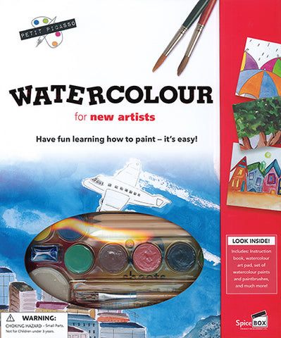 Watercolor for Young Artists