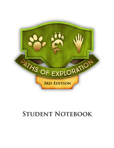 Paths of Exploration 3rd Edition - Student Notebook Pages