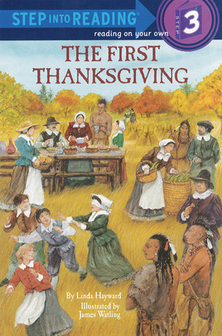 The First Thanksgiving - Step Into Reading - 3