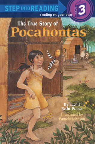 The True Story of Pocahontas - Step Into Reading - 3
