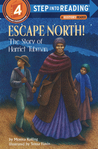 Escape North! Harriet Tubman - Step Into Reading - 4