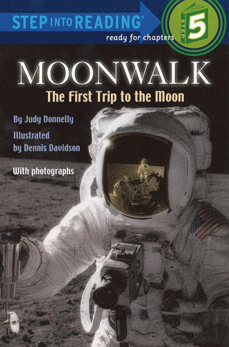 Moonwalk: The First Trip to the Moon - Step Into Reading - 5
