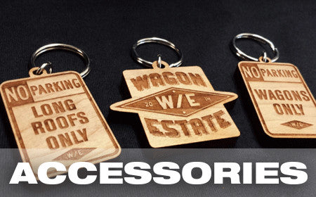 Wagon Estate KeyChains