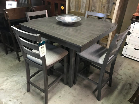 Tahoe Gray 5pc Dining