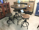 Odium 5pc Adjustable Height Table and Stools